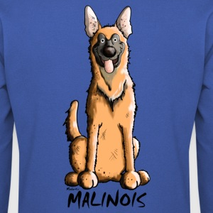 Drôle Malinois Chien Tee shirts - Sweat-shirt Homme
