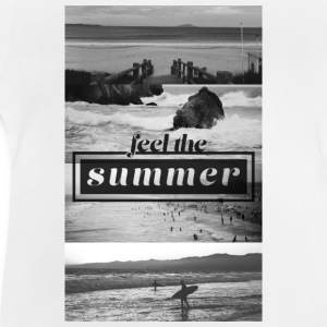 feel the summer Langarmshirts - Baby T-Shirt