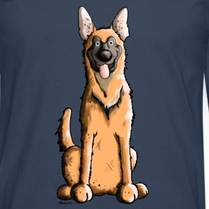 Mignon Malinois Chien Tee shirts - T-shirt manches longues Premium Homme