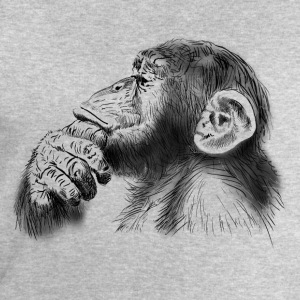 chimpanzee T-Shirts - Men's Sweatshirt by Stanley & Stella