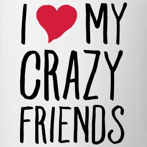 I (Heart) My Crazy Friends Topy - Kubek