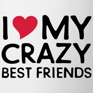 I (Heart) My Crazy Friends T-shirts - Mok