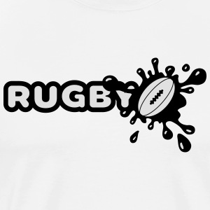 Rugby Splash Tabliers - T-shirt Premium Homme