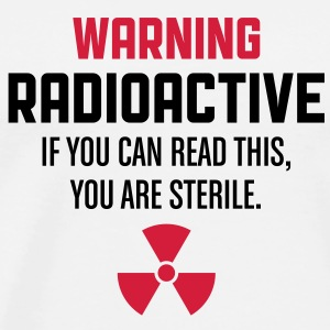 Attention: Radioactive Débardeurs - T-shirt Premium Homme