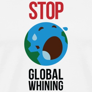 Stop Global overdrivelse Sweatshirts - Herre premium T-shirt
