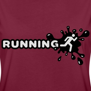 Running Splash Sweat-shirts - T-shirt oversize Femme