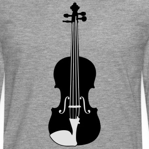 Violin T-Shirts - Men's Premium Longsleeve Shirt