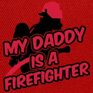 My daddy is a firefighter Shirts - Snapback Cap