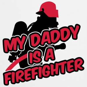 My daddy is a firefighter Magliette - Grembiule da cucina