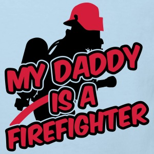 My daddy is a firefighter Shirts - Kids' Organic T-shirt