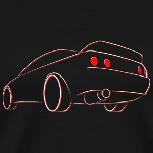 R32 Skyline outline Mugs & Drinkware - Men's Premium T-Shirt