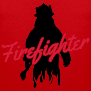 Firefighter T-shirts - Mannen Premium tank top