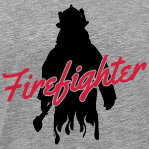 Firefighter Tank Tops - Men's Premium T-Shirt