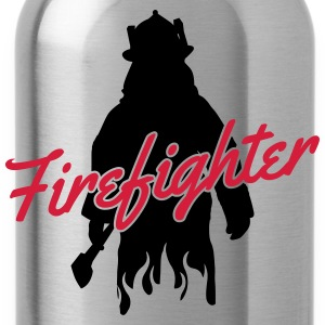 Firefighter T-Shirts - Water Bottle