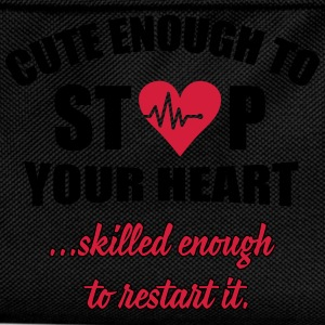 Cute enought to stop your heart - Paramedic Sweat-shirts - Sac à dos Enfant