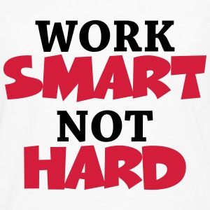 Work smart, not hard T-shirts - Långärmad premium-T-shirt herr