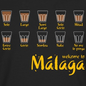 Welcome to Malaga (red) Tee shirts - T-shirt manches longues Premium Homme