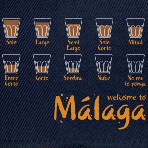 Welcome to Malaga (blue) T-Shirts - Snapback Cap