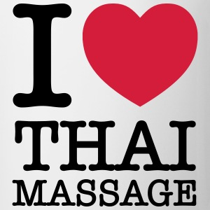 I (Heart) Thai Massage T-skjorter - Kopp