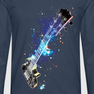 Cosmic Guitar Tee shirts - T-shirt manches longues Premium Homme