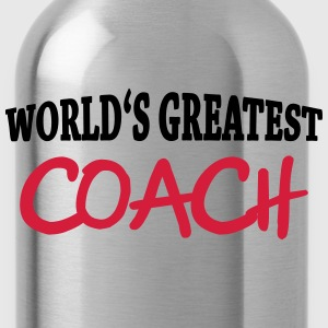 World's greatest Coach T-shirts - Drinkfles