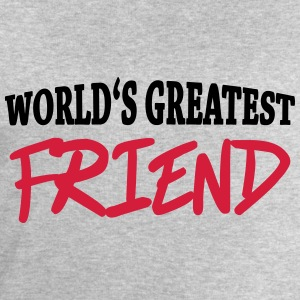 World's greatest friend Manches longues - Sweat-shirt Homme Stanley & Stella