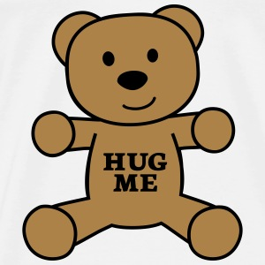 teddy bear hug me Shirts - Men's Premium T-Shirt