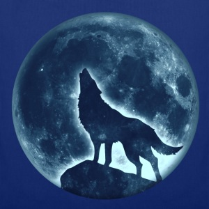 Howling Wolf, full moon, wolves, native, Indians T - Tote Bag