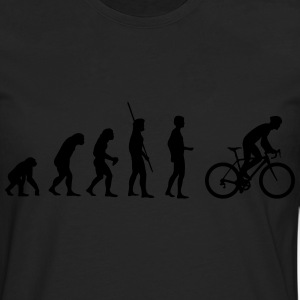 Evolution bike saddle T-Shirts - Men's Premium Longsleeve Shirt