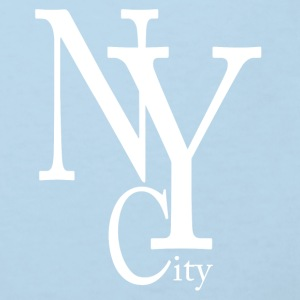 New York City blanc Accessori - Maglietta ecologica per bambini