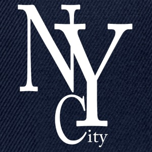 New York City blanc Tee shirts - Casquette snapback