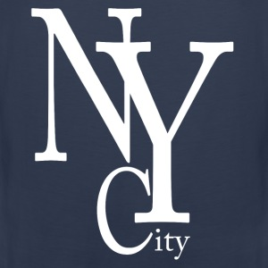 New York City blanc Tee shirts - Débardeur Premium Homme