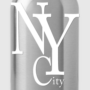 New York City blanc2 Tank Tops - Water Bottle