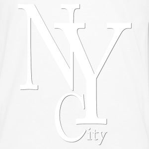 New York City blanc2 Tee shirts - T-shirt manches longues Premium Homme