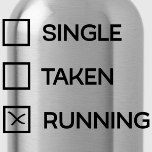 Single - Taken - Running T-Shirts - Trinkflasche