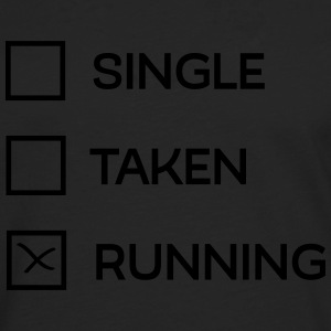 Single - Taken - Running T-shirts - Herre premium T-shirt med lange ærmer