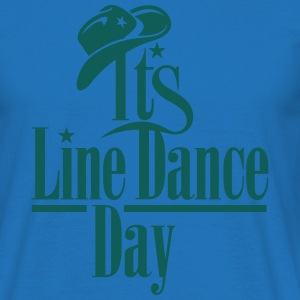 IT'S LINE DANCE DAY Tops - Männer T-Shirt