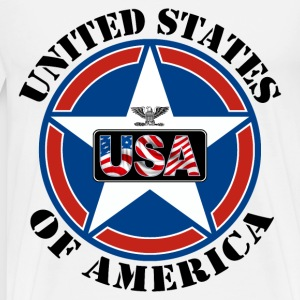 United States of America - T-shirt Premium Homme