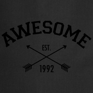 Awesome Est 1992 T-Shirts - Cooking Apron