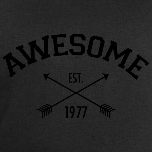 Awesome Est 1977 T-Shirts - Men's Sweatshirt by Stanley & Stella