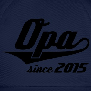 Opa since 2015 Swash T-Shirts - Baseballkappe