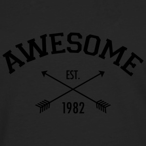 Awesome Est 1982 T-Shirts - Men's Premium Longsleeve Shirt