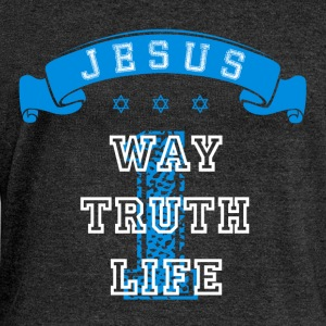 One Way Truth Life T-Shirts - Women's Boat Neck Long Sleeve Top