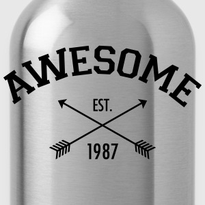 Awesome Est 1987 Tee shirts - Gourde