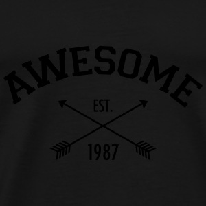 Awesome Est 1987 Tops - Männer Premium T-Shirt