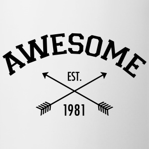 Awesome Est 1981 Tee shirts - Tasse