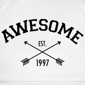Awesome Est 1997 Tank Tops - Baseballkasket