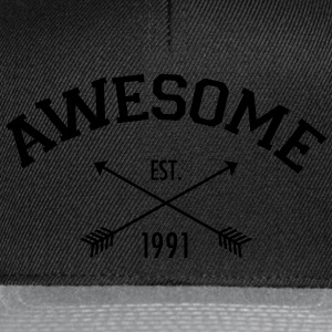 Awesome Est 1991 Top - Snapback Cap