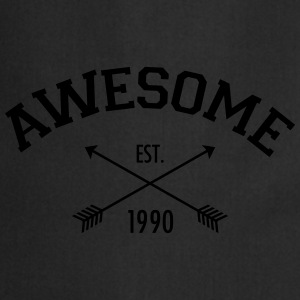 Awesome Est 1990 T-Shirts - Cooking Apron