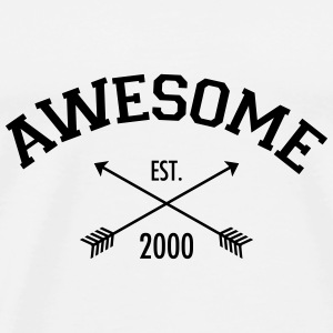 Awesome Est 2000 Tops - Men's Premium T-Shirt